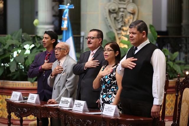Maestro Eduardo Ortiz Lara realiza Cambio de la Rosa de la Paz