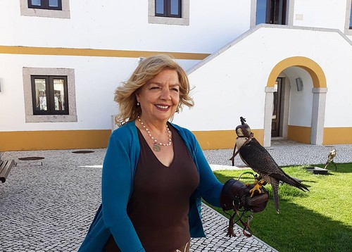 Rita Ferro na Falcoaria Real