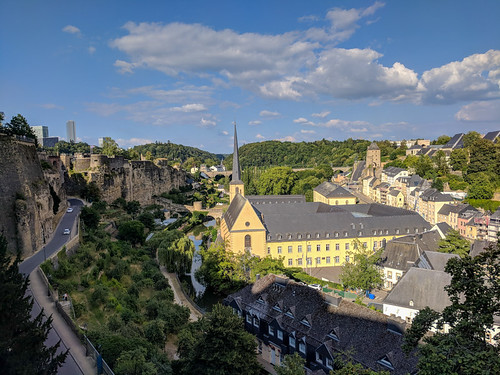 Neumünster Abbey in Luxembourg