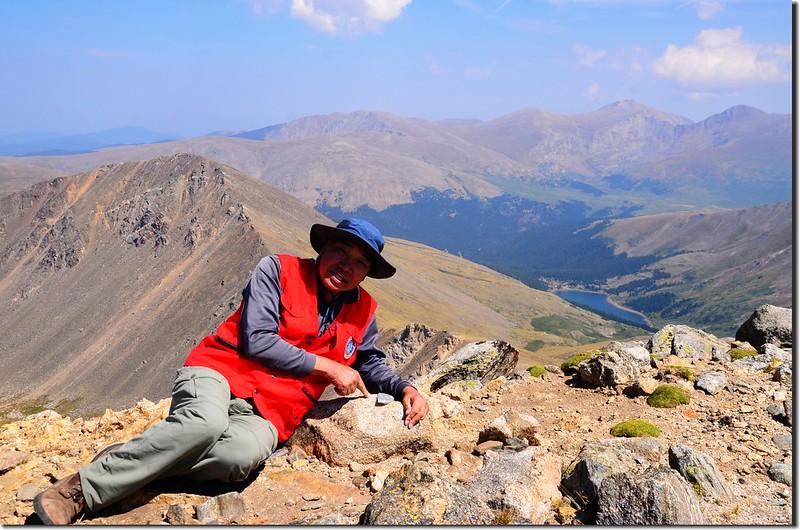 Me and Argentine Peak's Benchmark