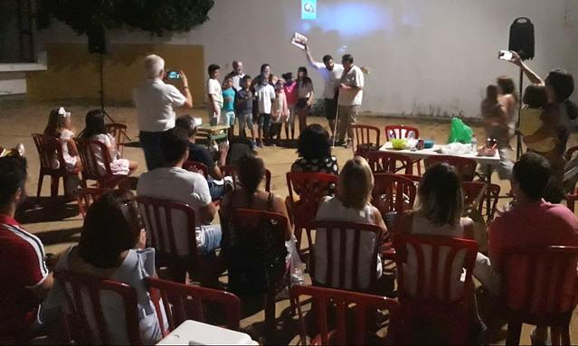 La Asociación Alfarha nos sorprende durante el cine de verano