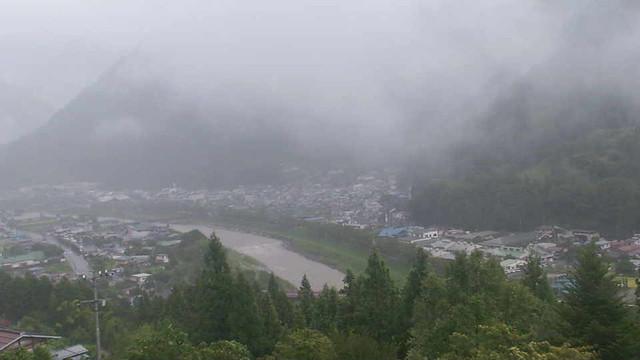 遠山川南信濃ライブカメラ画像. 2018/08/24 12:14