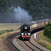 34052 'Lord Dowding', 'West Country' Class 4-6-2 Bulleid Light Pacific,, Newtom Meadows, Newton St Loe, Somerset