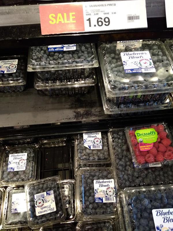 蓝莓1品脱1.69加元