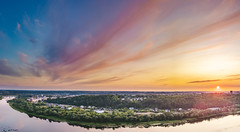 Summer sunset | Kaunas aerial #227/365