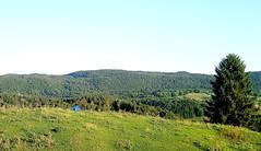 Bivouac dans le Jura.