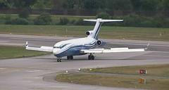 Starling Aviation Boeing 727-200 M-STAR Zurich Airport webcam capture