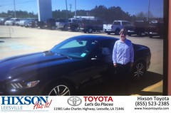 #HappyBirthday to Eva from Justin Brown at Hixson Toyota of Leesville!