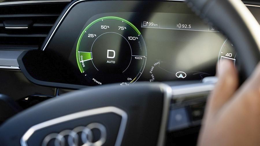 Audi e-tron rekuperacija 2