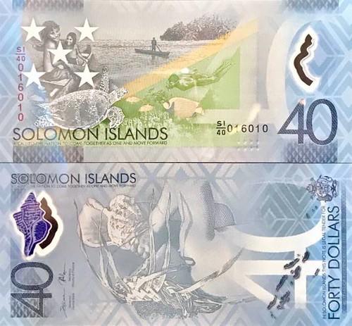 40 Dolárov Šalamúnove ostrovy 2018, P37