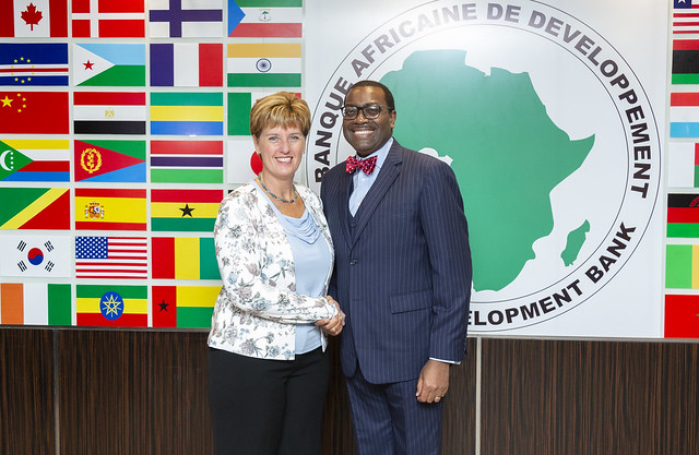 Canadian Minister of International Development Visit to AfDB HQ