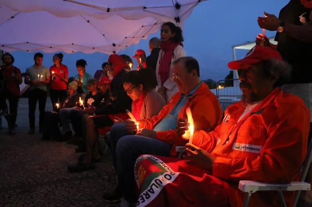 Brasil se une em solidariedade aos trabalhadores em greve de fome