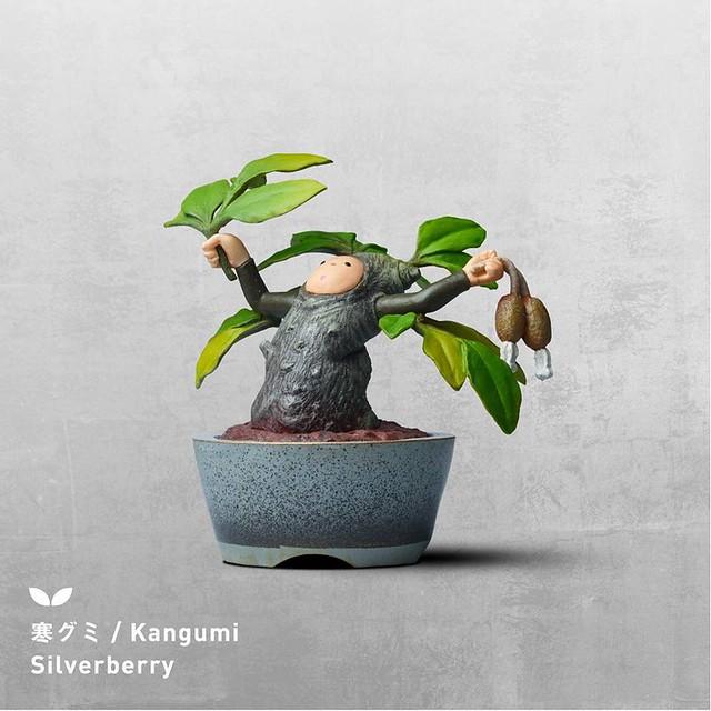 盆惱扭蛋:茱萸(寒グミ Kangumi / Silverberry)