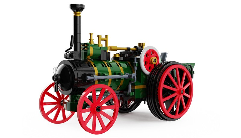 Traction Engine 1 - Lego Ideas