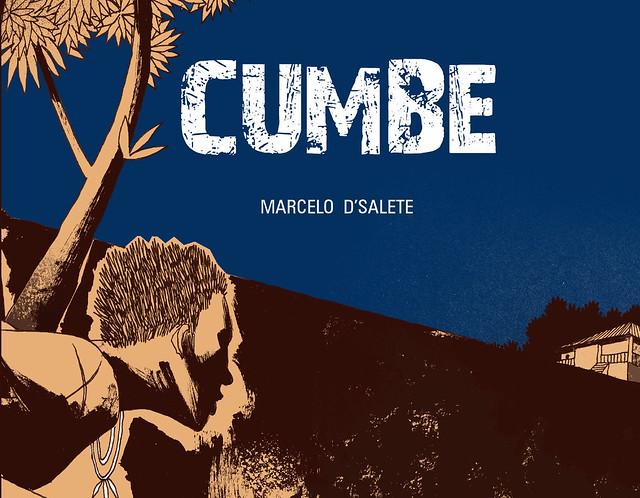 """Capa do quadrinho """"Cumbe"""" - Créditos: Marcelo D`Salete"""