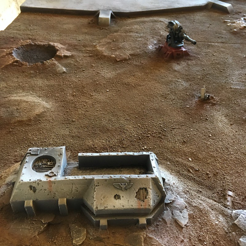 Medal of Colors Imperial Fortress Forge World painting-8