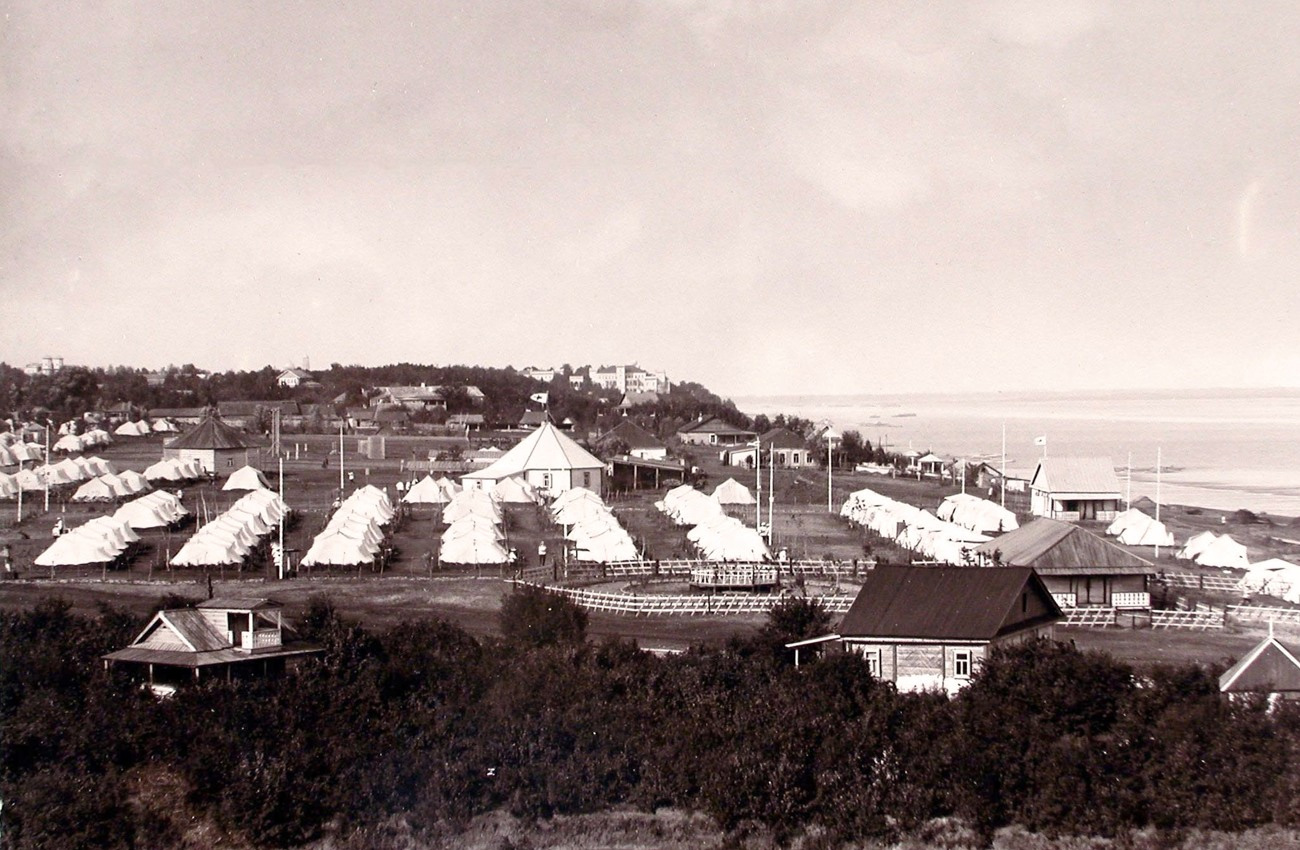 Лагерь гурийцев в Самаре. Начало 1890-х