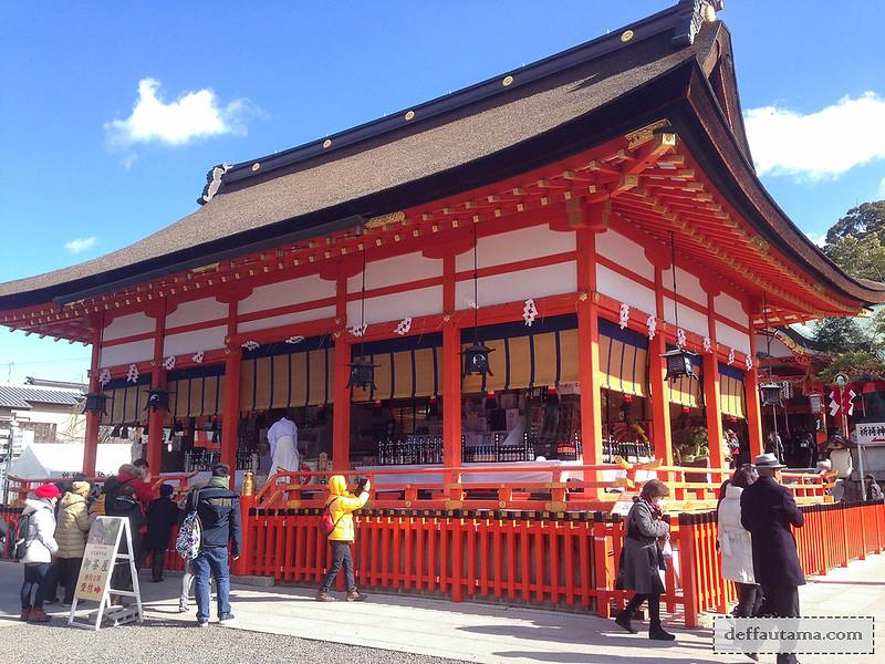 9 Hari Babymoon ke Jepang - Fushimi Inari Hall