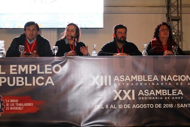 Asamblea Ordinaria y Extraordinaria ANEF (8/9/10-08-2018)
