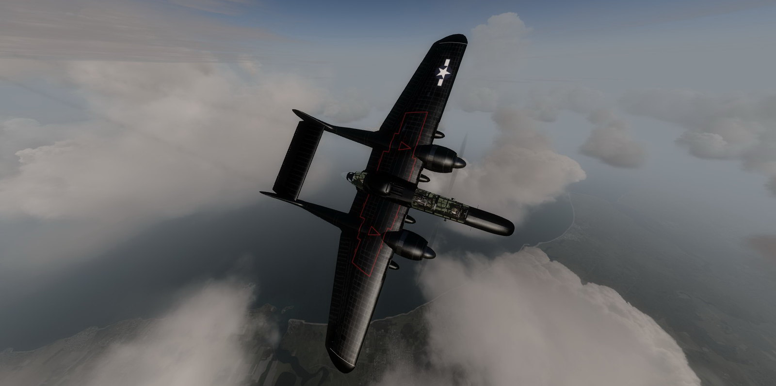 DC Designs Northrop P-61C Black Widow RELEASED [Archive