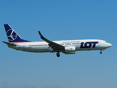 Boeing 737-89P - LOT - SP-LWB