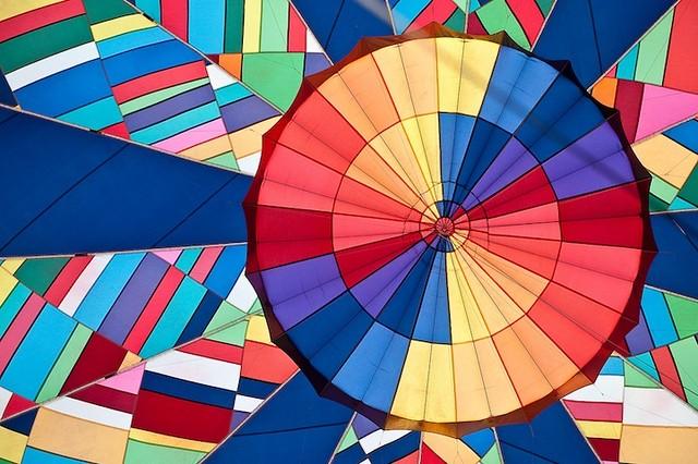 Psychology : Views Inside Hot Air Balloons