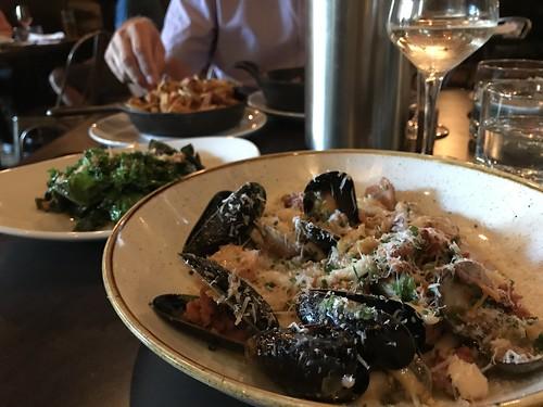 Pasta dish at Whalesbone