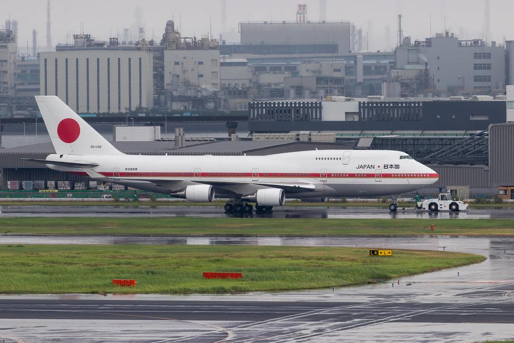 JASDF 日本国政府専用機