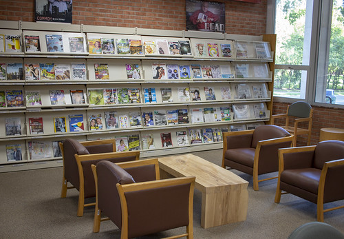 Periodicals and seating