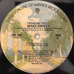 HERBIE HANCOCK:TREASURE CHEST(LABEL SIDE-C)