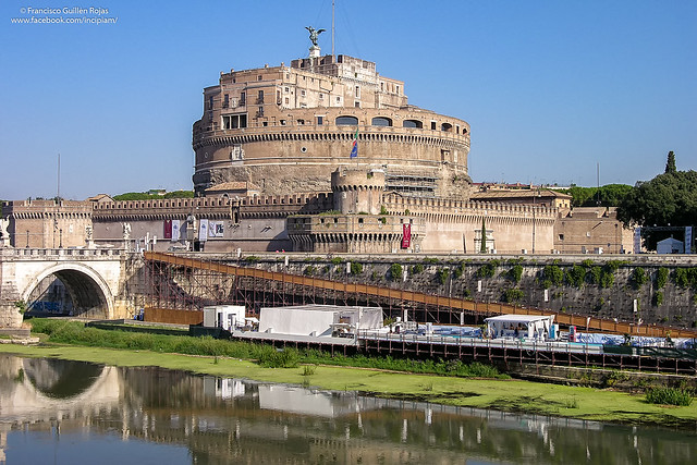 Castel Sant'Angelo, Roma, Nikon E8700