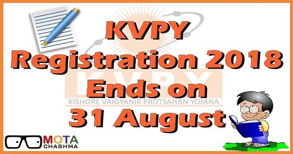 kvpy registration last date to apply