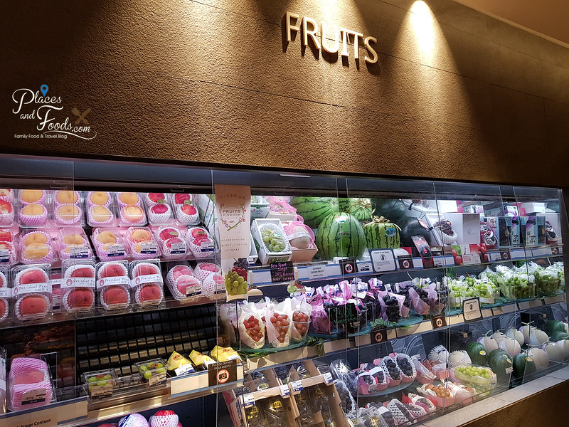 isetan japan store fruits