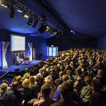 Packed audience for Richard Lloyd Parry | © Robin Mair