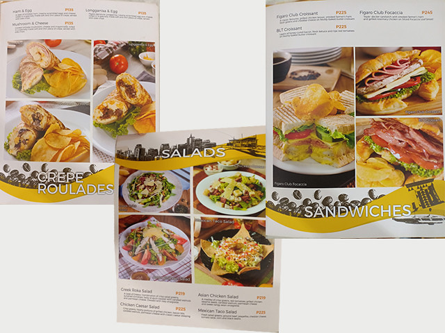 figaro menu collage1
