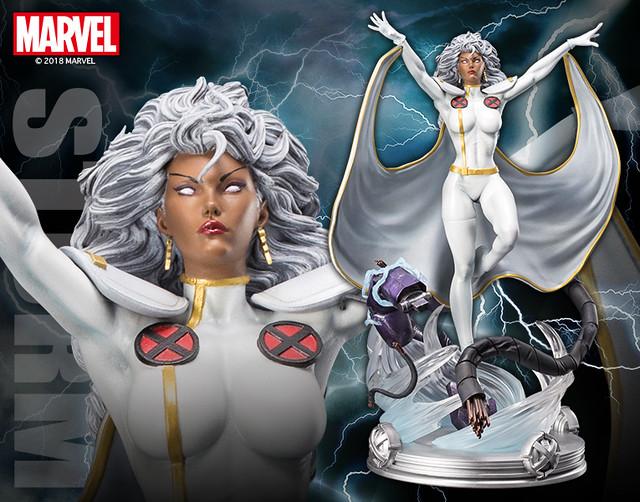 壽屋-DANGER ROOM SESSIONS-Marvel Universe【暴風女】ストーム Storm 1/6 比例全身雕像作品【壽屋店鋪限定】