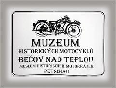 Museum Czech Republic Bečov nad Teplou Motorcycles