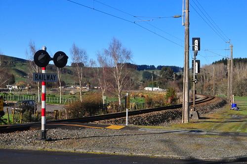Hunterville - looking towards Wellington