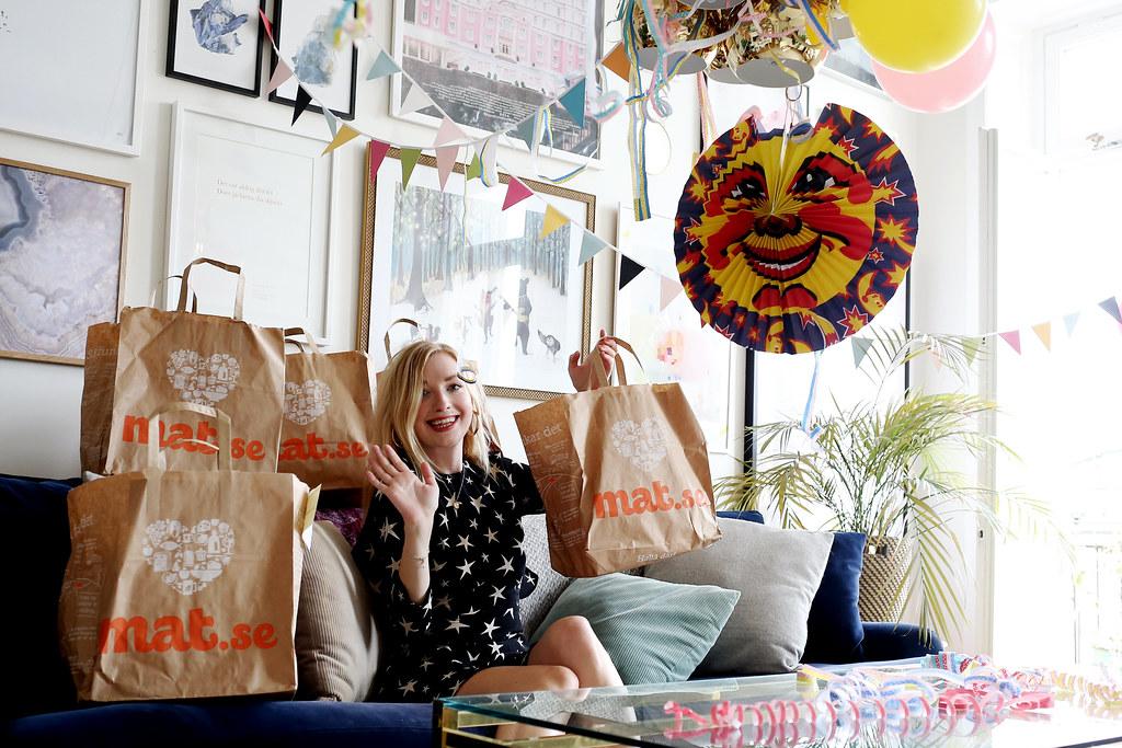 min födelsedag se min födelsedag: skaldjur och dans och kompisar. | Sandra Beijer min födelsedag se
