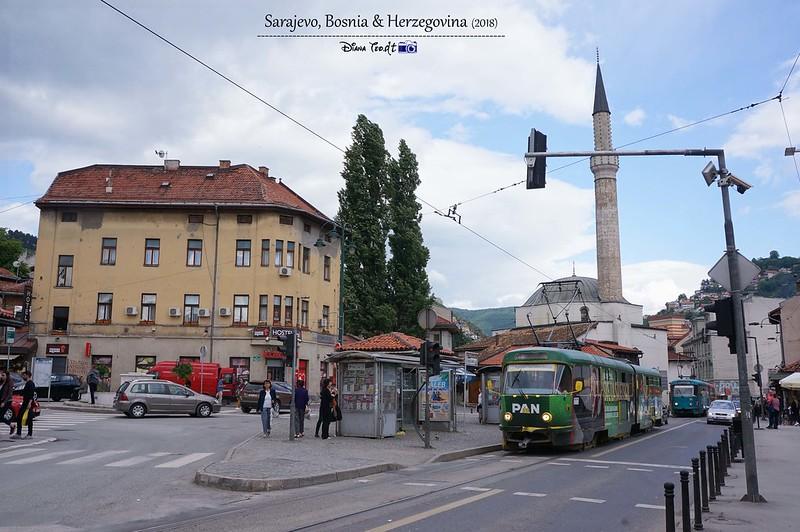2018 Bosnia Sarajevo Tram
