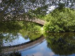 Biscarrosse: bourg et lac (Landes, France - 40)