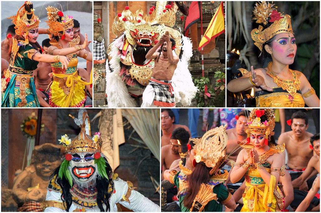 Barong Kecak taniec Bali