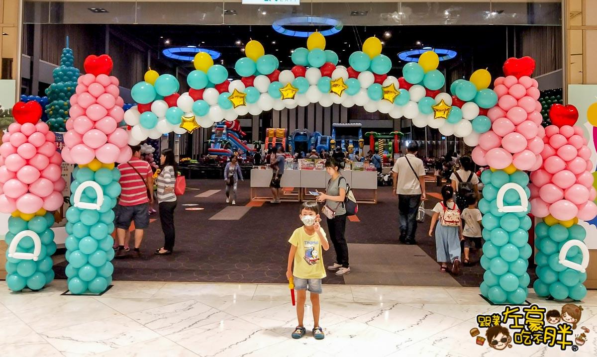 新光三越高雄左營店-環遊世界村創意氣球展-20