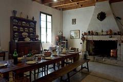 Beaucaire - Le Vieux Mas. La salle à manger de la ferme. - Photo of Bellegarde