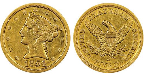 1854-s-half-eagle