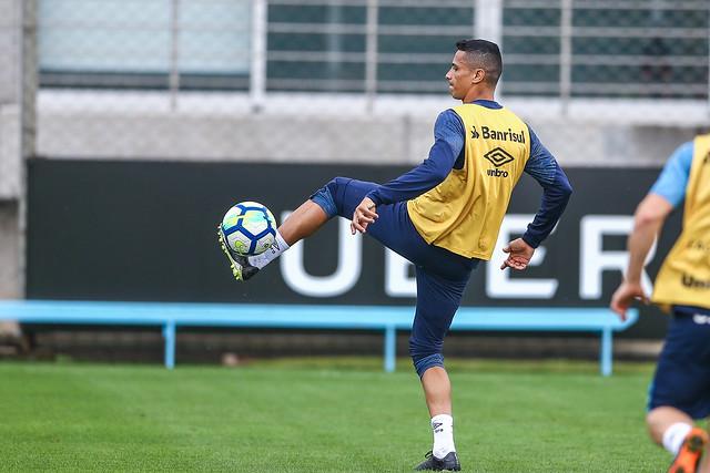 Treino Grêmio 24/08/18