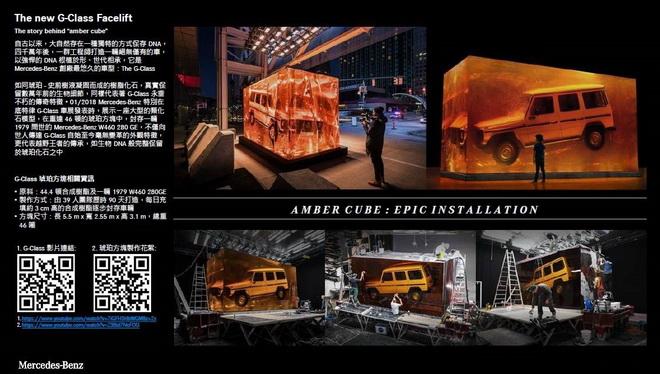 The new G-Class Facelift 琥珀背景故事