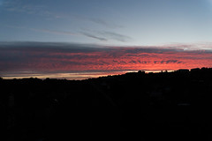 Sunset in Kolding