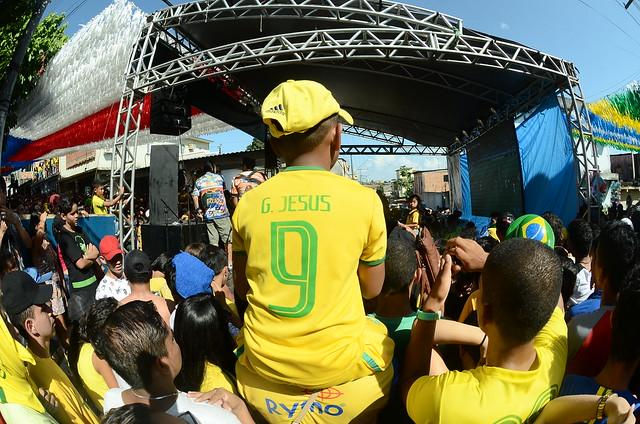 Transmissão do jogo entre Brasil e Sérvia