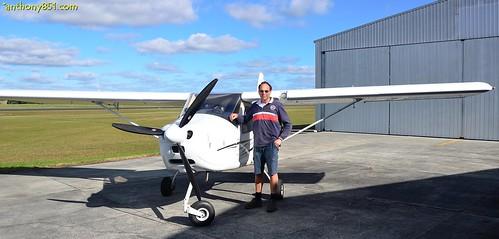 Whangarei Flying Club's ZK-WCF Tecnam Eaglet P92 G5